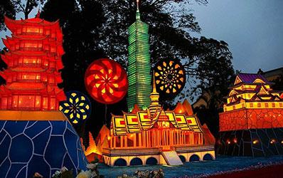 公园夜游—新加坡动物园